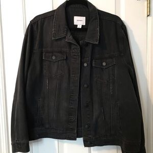 Old Navy denim black jean jacket